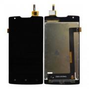 Γνήσια Οθόνη LCD και Μηχανισμός Αφής Digitiger  για Lenovo A1000 - Μαύρο