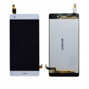 Original LCD Screen and Digitiger for Huawei Ascend P8 Lite - White