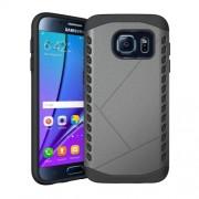 Θήκη Σιλικόνης TPU σε Συνδυασμό με Πλαστικό για Samsung Galaxy S7 G930 - Γκρι
