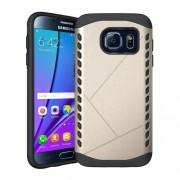 Θήκη Σιλικόνης TPU σε Συνδυασμό με Πλαστικό για Samsung Galaxy S7 G930 - Σαμπανιζέ