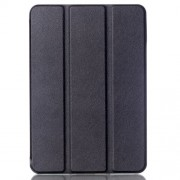 Lychee Tri-fold Smart Leather Case Stand for Samsung Galaxy Tab S2 8.0 T715 T710 - Black