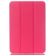 Lychee Tri-fold Stand Smart Leather Cover for Samsung Galaxy Tab S2 8.0 T715 T710 - Rose