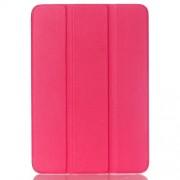 Δερμάτινη Θήκη Βιβλίο Tri-Fold με Βάση Στήριξης για  Galaxy Tab S2 8.0 T715 T710 - Φούξια