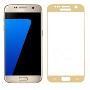 FEMA Σκληρυμένο Γυαλί (Tempered Glass) Προστασίας Οθόνης Πλήρης Κάλυψης για Samsung Galaxy S7 G930 - Χρυσαφί