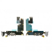 Dock Connector Charging Port Flex Cable for iPhone 6 Plus - Grey