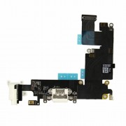 Dock Connector Charging Port Flex Cable for iPhone 6 Plus - White