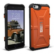UAG Hard Trooper Card Case for iPhone 6 / 6s - Rust/Black