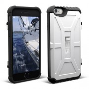 UAG Hard Trooper Card Case for iPhone 6 / 6s - White/Black