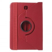 Rotary Stand Leather Flip Cover for Samsung Galaxy Tab S2 8.0 T710 T715 - Red