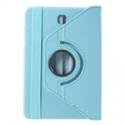 Rotary Stand Leather Flip Case for Samsung Galaxy Tab S2 8.0 T710 T715 - Light Blue