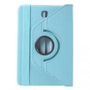 Περιστρεφόμενη Δερμάτινη Θήκη Βιβλίο με Βάση Στήριξης για Samsung Galaxy Tab S2 8.0 T715 T710 - Γαλάζιο