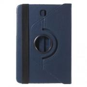 Περιστρεφόμενη Δερμάτινη Θήκη Βιβλίο με Βάση Στήριξης για Samsung Galaxy Tab S2 8.0 T715 T710 - Σκούρο Μπλε