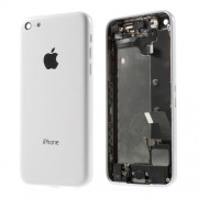 Μεταλλικό Καπάκι Μπαταρίας με Όλα τα Παρελκόμενα για iPhone 5c - Λευκό