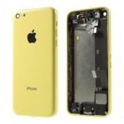Μεταλλικό Καπάκι Μπαταρίας με Όλα τα Παρελκόμενα για iPhone 5c - Κίτρινο