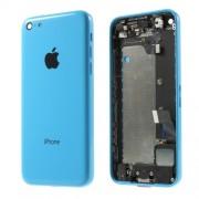 Μεταλλικό Καπάκι Μπαταρίας με Όλα τα Παρελκόμενα για iPhone 5c - Μπλε