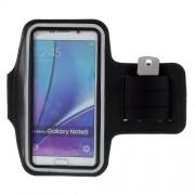 Θήκη Βραχίονα για Σπορ για Samsung Galaxy S7 Edge / S6 Edge Plus / Note 5 - Μαύρο