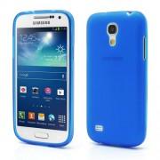 Θήκη Σιλικόνης TPU Ματ για Samsung Galaxy S4 mini I9190 I9192 I9195 - Μπλε