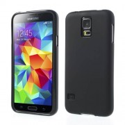 Black Double-sided Frosted TPU Case for Samsung Galaxy S5 G900 (Smooth Edge)