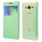 Δερμάτινη Θήκη Βιβλίο Smart Cover για Samsung Galaxy A5 SM-A500F - Πράσινο