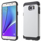 TPU + PC Hybrid Phone Cover for Samsung Galaxy Note 5 N920 - White