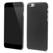 Ultrathin 0.7mm Matte Plastic Case for iPhone 6s / 6 4.7 inch - Black