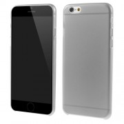Ultrathin 0.7mm Matte Plastic Skin Cover for iPhone 6s / 6 4.7 inch - Grey