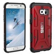 UAG Σκληρή Θήκη σε Συνδυασμό με Σιλικόνη TPU για Samsung Galaxy S7 - Κόκκινο του Κρασιού/Μαύρο