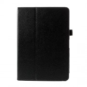 Δερμάτινη Θήκη Βιβλίο με Βάση Στήριξης για  Samsung Galaxy Note 10.1 (2014 Edition) SM-P600 / Tab Pro 10.1 T520 - Μαύρο