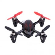 HUBSAN X4 H107C 2.4G 4CH RC Quadcopter with 0.3MP Camera Gyro Drone - Black / Red