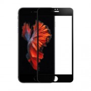 AMORUS for iPhone 7 Plus / 8 Plus Full Size 3D Curved Tempered Glass Screen Protector 0.3mm - Black