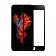 AMORUS for iPhone 7 / 8 3D Curved Full Screen Tempered Glass Protector Guard 0.3mm - Black