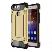 Armor PC TPU Hybrid Shell for Huawei P9 Plus - Champagne Gold