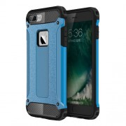 Armor Guard Plastic + TPU Hybrid Case for iPhone 7 Plus / 8 Plus - Baby Blue