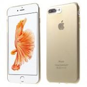 Θήκη Σιλικόνης TPU Πολύ Λεπτή για  iPhone 7 Plus - Χρυσαφί