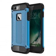 Armor Guard Plastic + TPU Hybrid Cover Case for iPhone 7 - Baby Blue