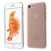 Σκληρή Θήκη Πολύ Λεπτή 0,3mm Ηιμιδιάφανη για iPhone 7 / 8 - Ροζ