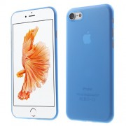 Ultra Thin PC Case Hard Shell Cover for iPhone 7 4.7 Inch - Blue