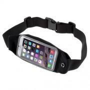 Θήκη Μέσης με Δυνατότητα Αφής Εξωτερικά για iPhone 7 6 6s Μέγεθος: 149 x 75mm - Μαύρο