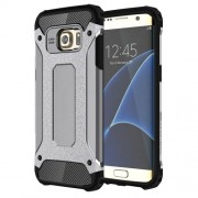 Tough Armor Υβριδική Θήκη Σιλικόνης TPU σε Συνδυαμό με Πλαστικό για Samsung Galaxy S7 Edge G935 - Γκρι