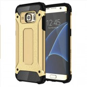 Tough Armor Υβριδική Θήκη Σιλικόνης TPU σε Συνδυαμό με Πλαστικό για Samsung Galaxy S7 Edge G935 - Χρυσαφί