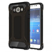 Tough Armor Υβριδική Θήκη Σιλικόνης TPU σε Συνδυαμό με Πλαστικό για Samsung Galaxy J5 (2016) - Μαύρο