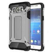 Tough Armor Υβριδική Θήκη Σιλικόνης TPU σε Συνδυαμό με Πλαστικό για Samsung Galaxy J7 (2016) - Γκρι