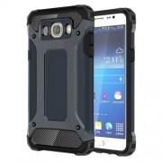 Tough Armor Υβριδική Θήκη Σιλικόνης TPU σε Συνδυαμό με Πλαστικό για Samsung Galaxy J7 (2016) - Σκούρο Μπλε