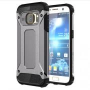 Tough Armor Υβριδική Θήκη Σιλικόνης TPU σε Συνδυαμό με Πλαστικό για Samsung Galaxy S7 G930 - Γκρι