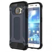 Cool Armor PC + TPU Phone Cover for Samsung Galaxy S7 G930 - Dark Blue