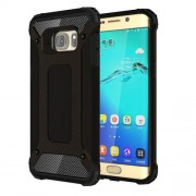 Armor PC + TPU Hybrid Case for Samsung Galaxy S6 edge+ G928 - Black