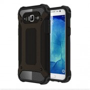 Armor Guard Plastic + TPU Hybrid Case for Samsung Galaxy J5 SM-J500F - Black