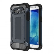 Armor Guard Plastic + TPU Combo Cover for Samsung Galaxy J5 SM-J500F - Dark Blue