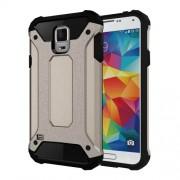 Armor PC TPU Back Case for Samsung Galaxy S5 G900 - Grey