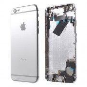 Metal Back Housing Faceplate Assembly Parts for iPhone 6 - Silver